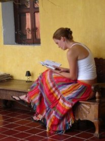 Reading in Guatemala