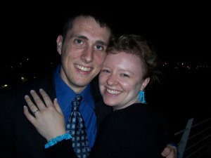 The night we became engaged on a cruise in the Bahamas