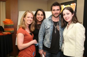 My team with Juanes