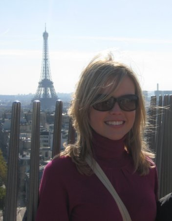 On top of the Arc de Triomphe in one of my favorite cities, Paris (Oct. 2008)