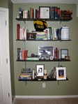 Our semi-recycled bookshelf